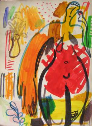 21st century art, painting 2019  Artists of the 21st century