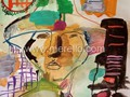 ARTE_CONTEMPORANEO-.merello.-man with hat--mixta-papel (Copy)