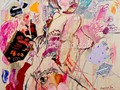 ARTE_CONTEMPORANEO-.merello.-mauve sexy girl (100x81 cm)mixta-lienzo (Copy)