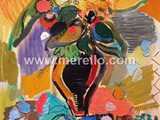 CONTEMPORARY-ARTISTS-INVEST-merello.-summertime-flowers-(130x81-cm)