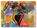 CONTEMPORARY-ARTISTS-merello.-summertime-flowers-(130x81-cm)