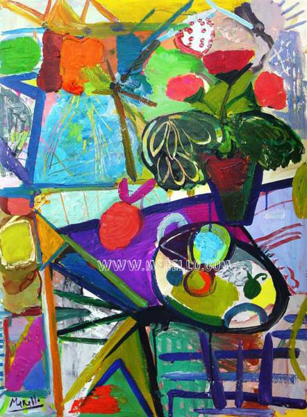 Merello.-Still life.Art investment. Invest in contemporary art. Spanish painting. Buy paintings of modern and contemporary art. Current art investment. Artists Painters.