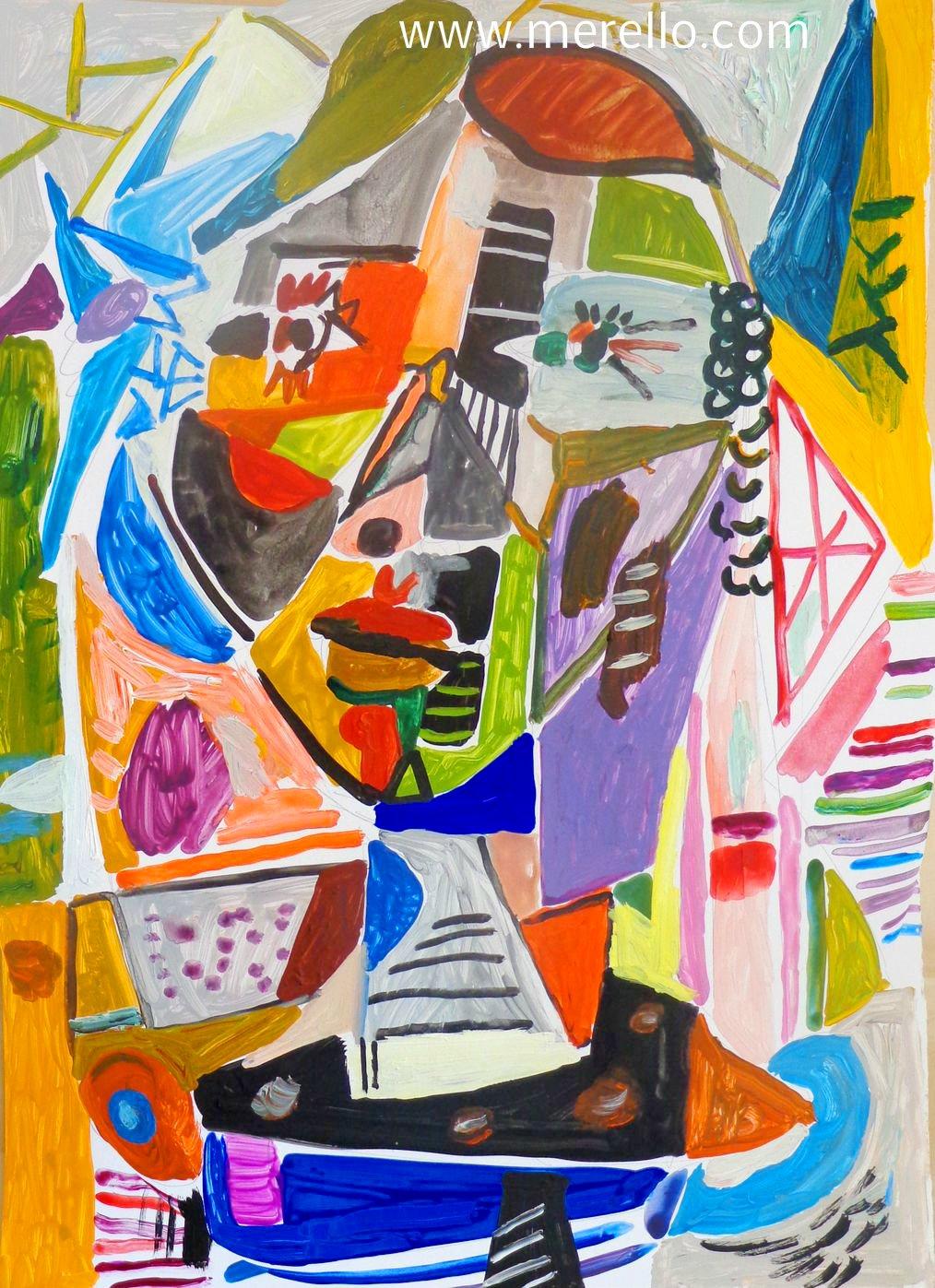 Peintre Contemporain Célèbre Vivant art moderne,artistes,peintres espagnols. merello