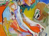 spanish-painting-contemporary-modern.merello.desnudo-blanco-40x30-cm-oilwood-