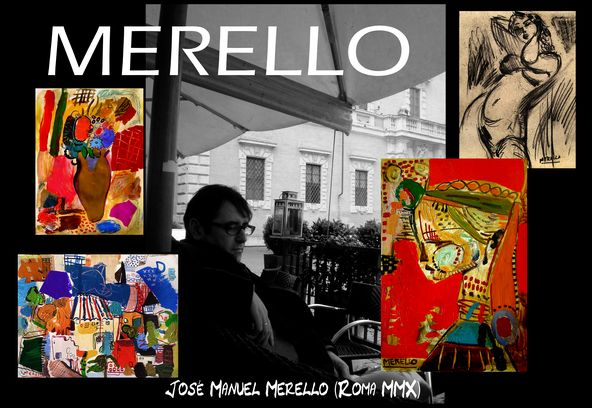 Extrêmement Art Moderne,Artistes,PEINTRES ESPAGNOLS. MERELLO, Expressionnistes  EJ97