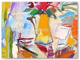 contemporary-modern-art-world-artists.jose-manuel-merellojarron-con-flores-de-la-pasion100x81-cmmixtalienzo-