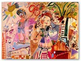 contemporary-modern-art-world-artists.jose-manuel-merelloromance-81x100-cm-mixtatabla-