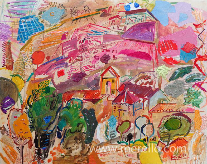 Arte moderno 2015 el toro rojo pincel pintura y color - Cuadros minimalistas modernos lo ultimo arte ...
