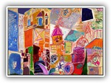 pintores-contemporaneos.-jose-manuel-merello.-valencia.-plaza-de-la-reina.-(100-x-81-cm)-mix-media-on-canvas.