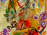 pintura-en-espana.merello.-fantasy-2.-mix-media-on-paper